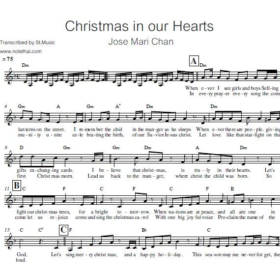 Christmas in our Hearts (Jose Mari Chan)
