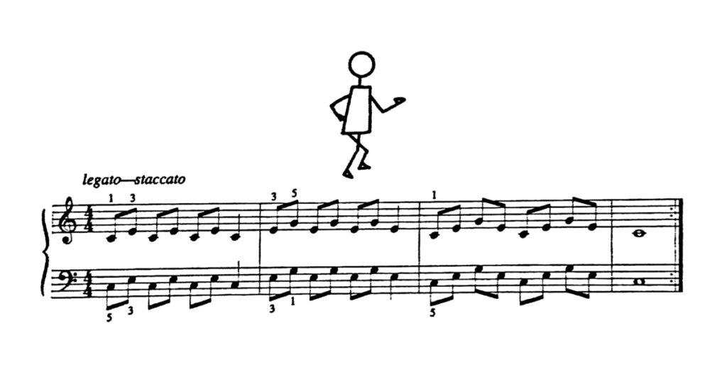 piano exercise